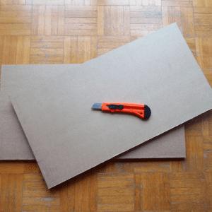 DIY, Karton Kutudan Masa Yapılışı 16