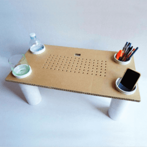 DIY, Karton Kutudan Masa Yapılışı 21
