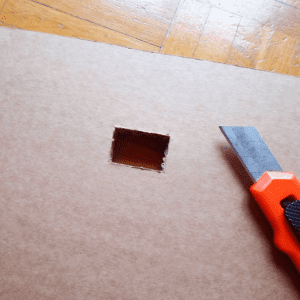 DIY, Karton Kutudan Masa Yapılışı 3