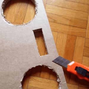 DIY, Karton Kutudan Masa Yapılışı 5