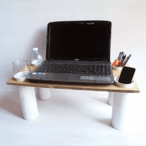 DIY, Karton Kutudan Masa Yapılışı 8