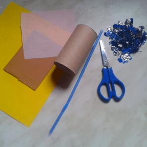 DIY,Tuvalet Kağıdı Rulosundan Konfeti Yapılışı 1