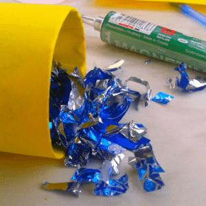 DIY,Tuvalet Kağıdı Rulosundan Konfeti Yapılışı 4