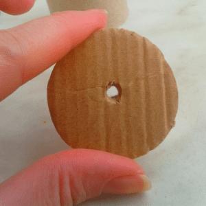 DIY,Tuvalet Kağıdı Rulosundan Konfeti Yapılışı 5