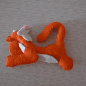 Keçe Winith Pooh Tigger Yapılışı 2