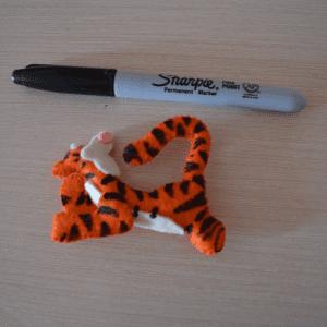 Keçe Winith Pooh Tigger Yapılışı 8