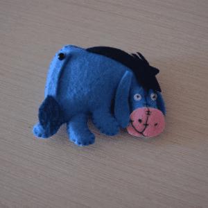 Keçe Winnie the Pooh Eeyore Yapılışı 10