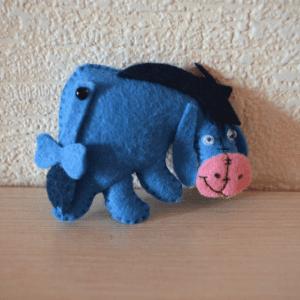 Keçe Winnie the Pooh Eeyore Yapılışı 3