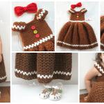 Kız Çocuk Örgü Elbise Modeli
