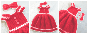Kız Çocuk Örgü Elbise Modeli 3