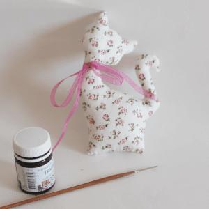 Kumaş Oyuncak Kedi Yapılışı 2
