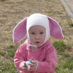 Örgü Şapka Tavşan Modeli Yapılışı 9