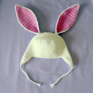 Örgü Şapka Tavşan Modeli Yapılışı 10