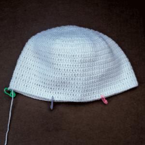 Örgü Şapka Tavşan Modeli Yapılışı 7