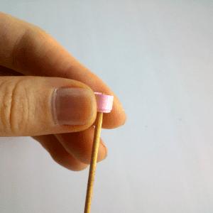 Quilling Sanatı Yaprak Modeli Yapılışı 11