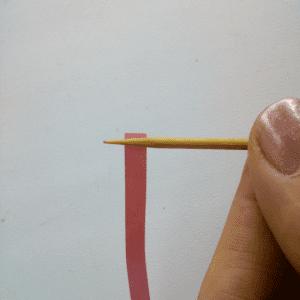 Quilling Sanatı Yaprak Modeli Yapılışı 13