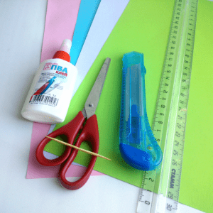 Quilling Sanatı Yaprak Modeli Yapılışı 3