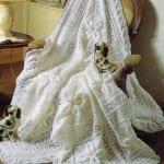 Şiş Bebek Battaniyesi Örgü Modelleri 20