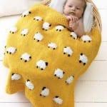 Şiş Bebek Battaniyesi Örgü Modelleri 74