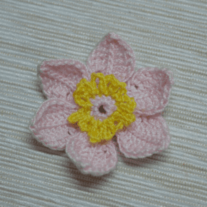 Tığ İşi Lotus Çiçek Yapılışı 17