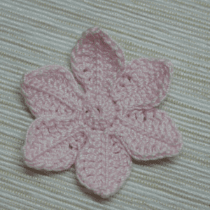 Tığ İşi Lotus Çiçek Yapılışı 3