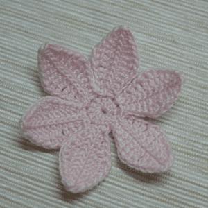 Tığ İşi Lotus Çiçek Yapılışı 4