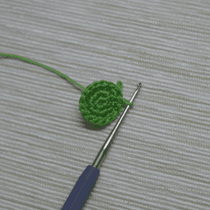 Tığ İşi Lotus Çiçek Yapılışı 8