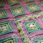 Tığ İşi Tatlı Bebek Battaniyesi 5