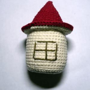 Amigurumi Küçük Ev Yapılışı 3