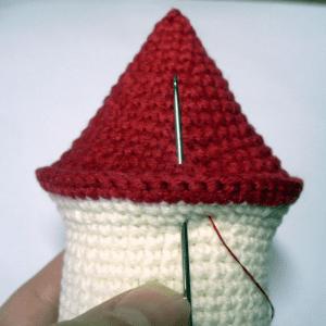 Amigurumi Küçük Ev Yapılışı 5