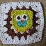 Baykuş Motifli Bebek Battaniyesi 16