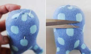 Çoraptan Tavşan Nasıl Yapılır ? 11