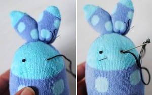 Çoraptan Tavşan Nasıl Yapılır ? 15