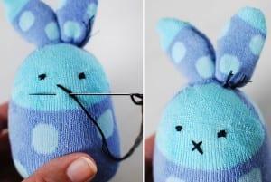 Çoraptan Tavşan Nasıl Yapılır ? 16