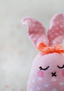Çoraptan Tavşan Nasıl Yapılır ? 3