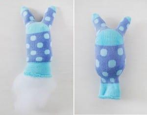 Çoraptan Tavşan Nasıl Yapılır ? 7