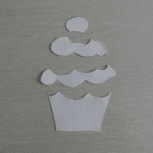 Cupcake Kumaş Tutacak Yapılışı 14