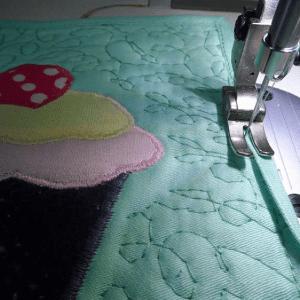 Cupcake Kumaş Tutacak Yapılışı 16