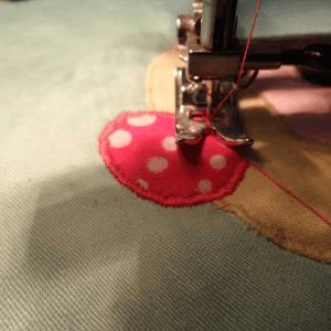 Cupcake Kumaş Tutacak Yapılışı 1