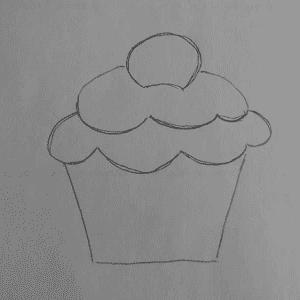 Cupcake Kumaş Tutacak Yapılışı 23