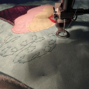 Cupcake Kumaş Tutacak Yapılışı 24