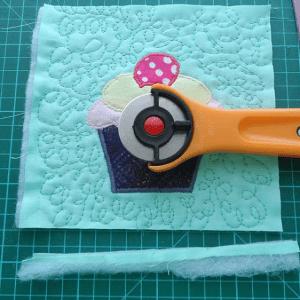Cupcake Kumaş Tutacak Yapılışı