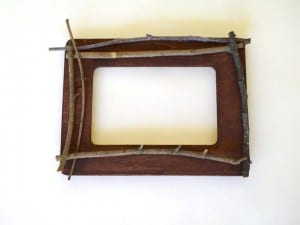 DIY, Ağaç Dallarından Dekoratif Çerçeve Yapımı 3