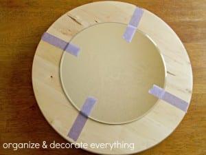 DIY, Hasır İple Dekoratif Ayna Yapılışı 5