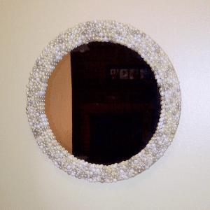 DIY, İncili Ayna Yapılışı