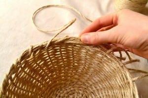 DIY, Jüt İpi İle Sepet Yapılışı 10