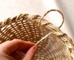 DIY, Jüt İpi İle Sepet Yapılışı 11