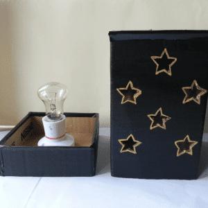 DIY, Karton Kutudan Abajur Yapılışı 10