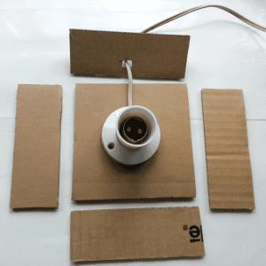 DIY, Karton Kutudan Abajur Yapılışı 11
