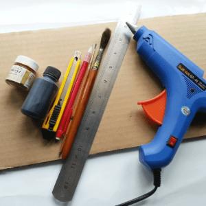 DIY, Karton Kutudan Abajur Yapılışı 12